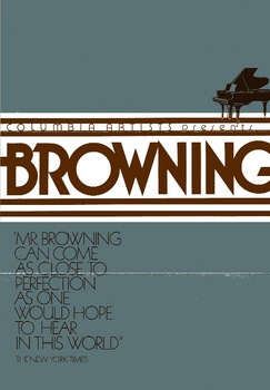 Pianist John Browning performs - 1988