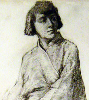 Female Figure by Sybil Hunt Connell