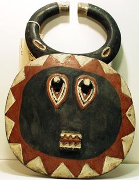 Water Buffalo Mask, mid 20th century