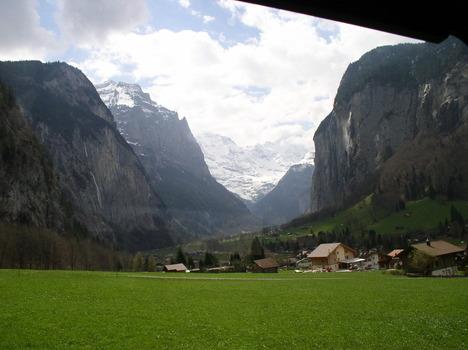 Die Schweiz, von der Jungfraubahn