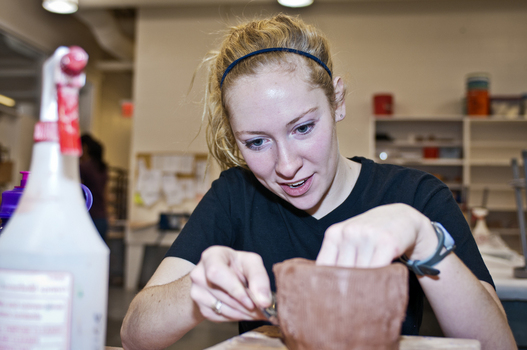 Winter Term 2012:  Think Spring!  Ceramic Garden Containers
