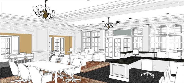 Hubbard Center Lobby