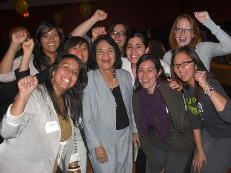 Feminista! meets Dolores Huerta in Chicago!