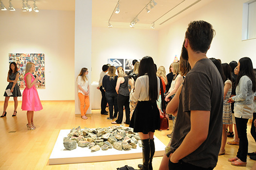 2015 senior art exhibit talk