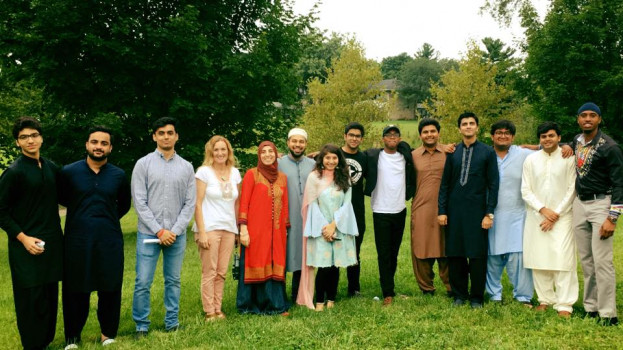 Eid in Bloomington with Muslim Students