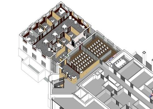 Second Floor Isometric