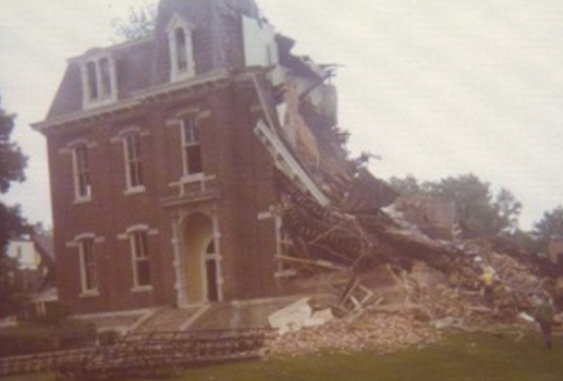 Music Hall demolished - 1976