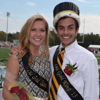 Old Gold King & Queen 2013
