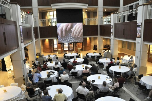 Percy L. Julian Science and Mathematics Center Atrium