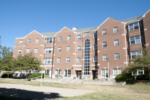 South Side of Humbert Hall