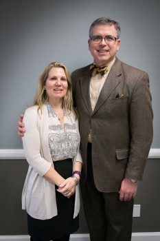 Dr. Keith Kenter '84 and Patricia Lilly Kenter '85