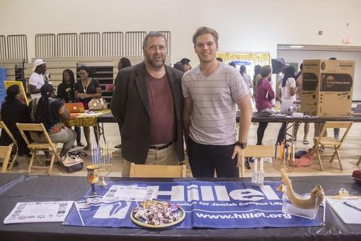Promoting Jewish Life at the activity fair
