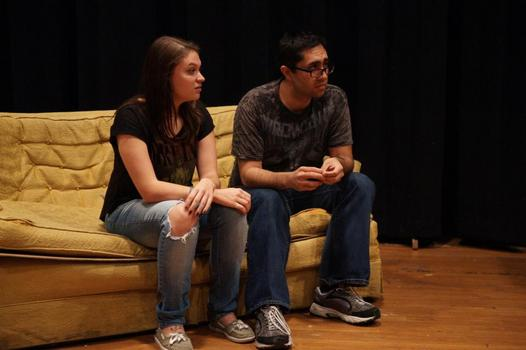 Alissa Britigan and Alex Diaz - Playwrights' Festival