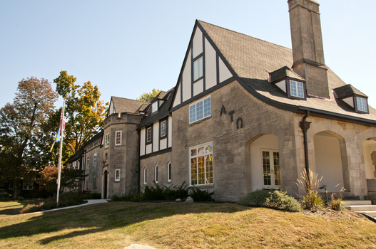 The Delta Rho Chapter House of Alpha Tau Omega
