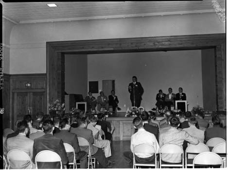 APO Alpha Upsilon Chapter Meeting in 1957