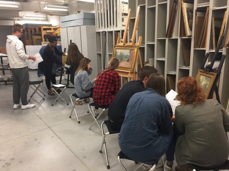 American Art Survey class, Fall 2017
