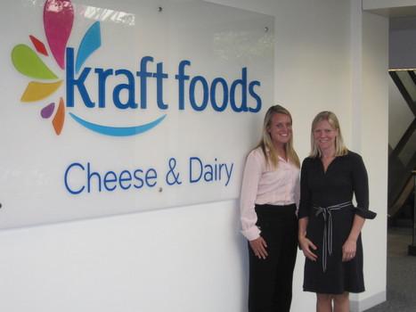 Anna Plymate Field with Julia Drummond at KRAFT