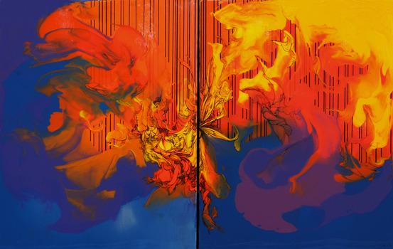 Untitled, 2013, Mixed Media