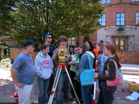 Learning to use Archaeological Survey Equipment