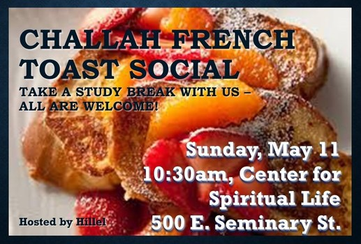 Challah French Toast Social