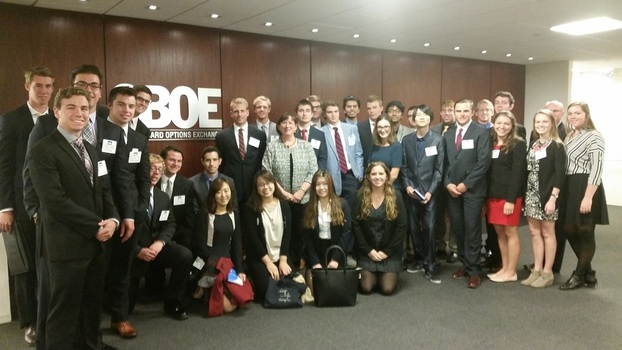 Our students enjoying their time on the Chicago Career Exploration trip.