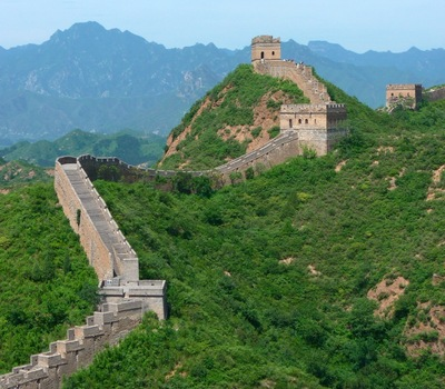 The Great Wall at Jinshanling (Photo by Jake Willingham '12)