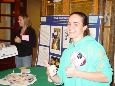 Our program Cloverdale High School student at Indiana Women in Computing Conference