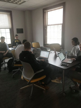 Members of Consulting Group collaborating