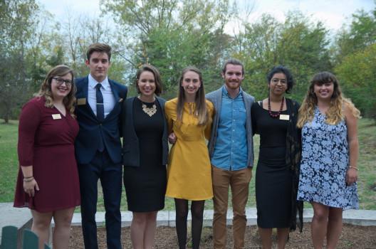 Current Hillman interns Sarah Ertelt, Luka Ignac, Barbara Castellini, Kiara Goodwine, Nathaniel Reed, Summer Pappachen and Emma Mazurek