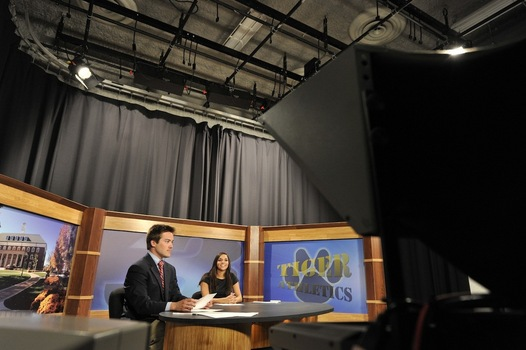The D3TV studio.