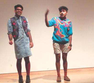 DarkMatter, trans south asian art activists, September 2014