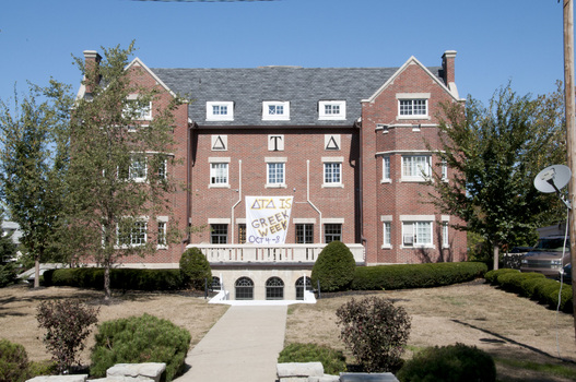 The Beta Beta Chapter House of Delta Tau Delta