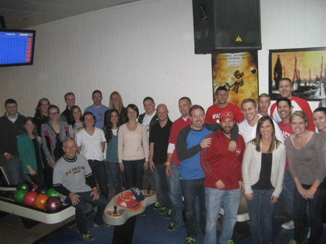 2013 Monon Bowl held at Elitch Lanes