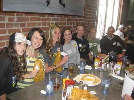 2013 Monon Bell Telecast Party held at Brooklyn's