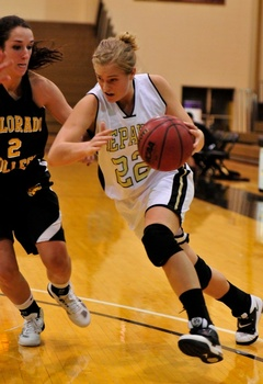 Women's basketball takes on Colorado College.