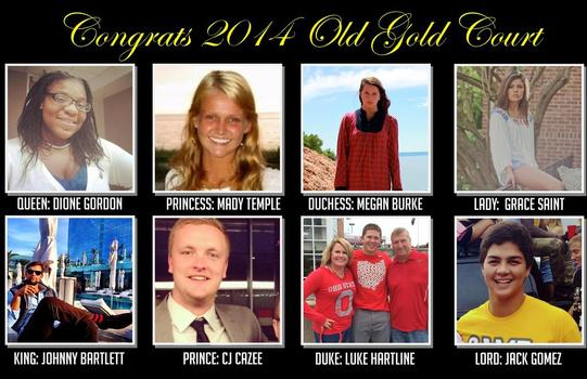 Old Gold Court 2014