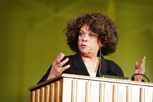 Sharon Morgan speaks at DePauw Dialogue 2015