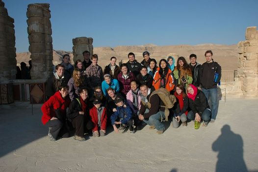 On Masada at dawn