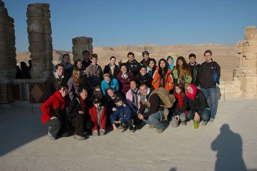 On Masada at dawn