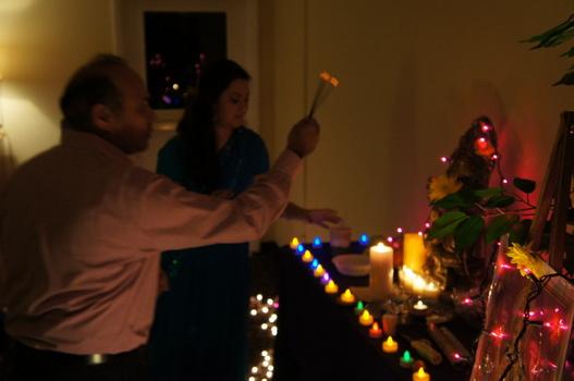 Diwali celebration of light