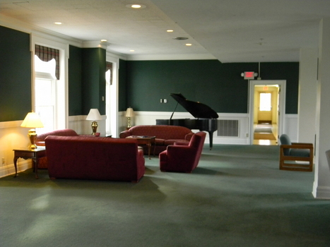 Bishop Roberts Hall lobby