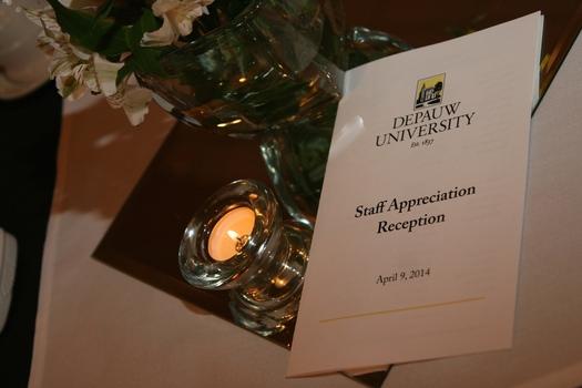 Staff Appreciation Reception