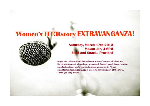 Women's HERstory Extravaganza!