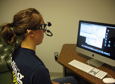 Eyetracking headsets are an important tool in my research.
