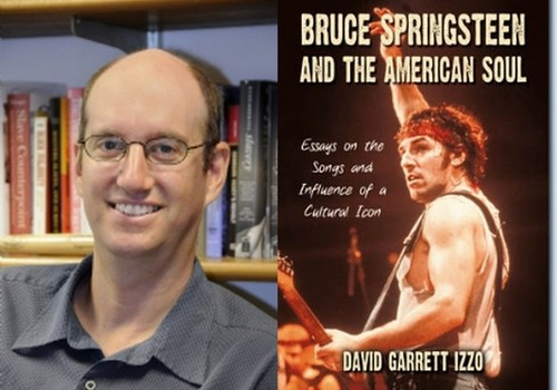 Professor David Gellman recently contributed to the newly published book on Bruce Springsteen.