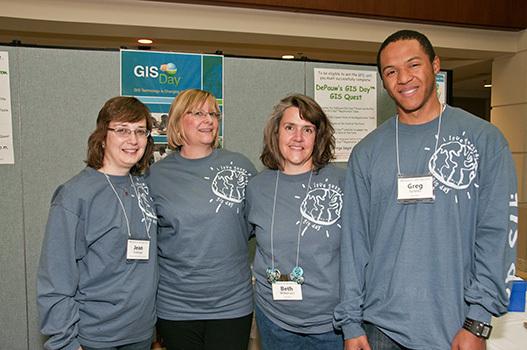 Celebrating GIS Day at DePauw!