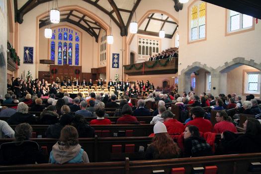 Lessons and Carols, an annual tradition at Gobin Memorial United Methodist Church