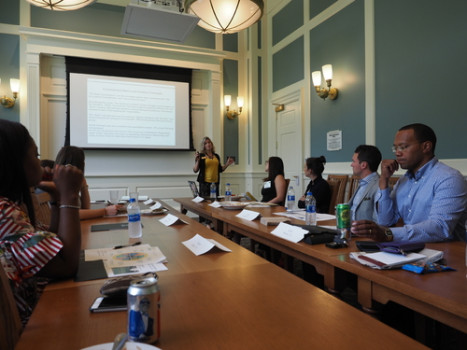 GOLD Council Meeting in Hoover Hall during Alumni Reunion Weekend (June 2018)