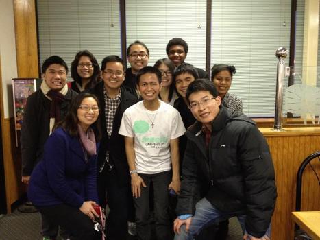 AAPIs + 1 at China Buffet (Spring '12)