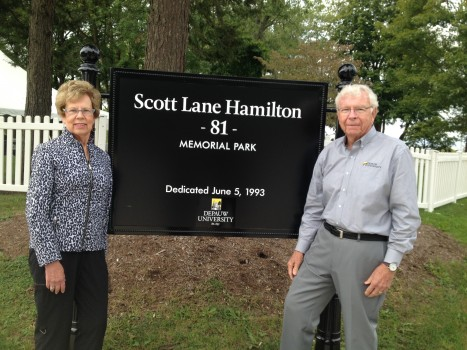Don '57 and Laurie Hamilton '58